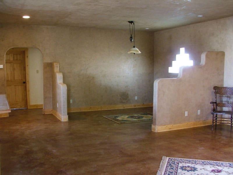 spec house living room