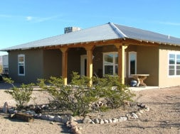 Territorial Style House New Mexico