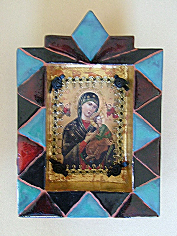 Our Lady of Perpetual Help Retablo