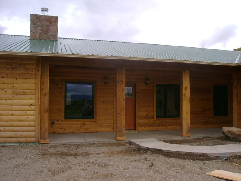 Phelps Log Home