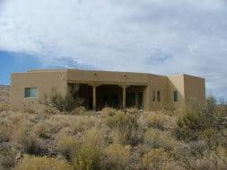 Pueblo-style Stucco Home