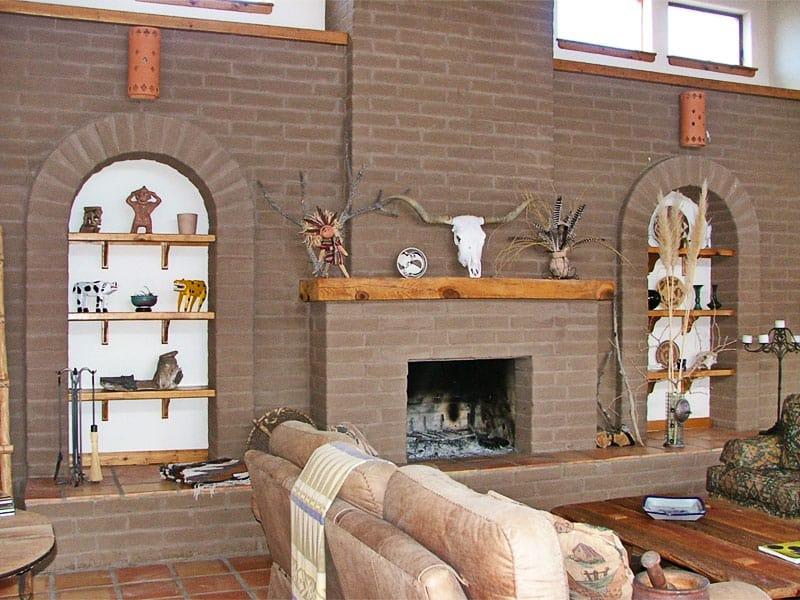 great room, Weiner home