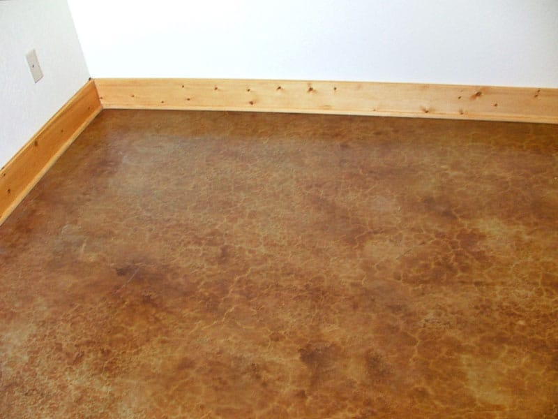 acid etched concrete floor