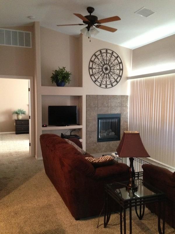 Lohman living room fireplace