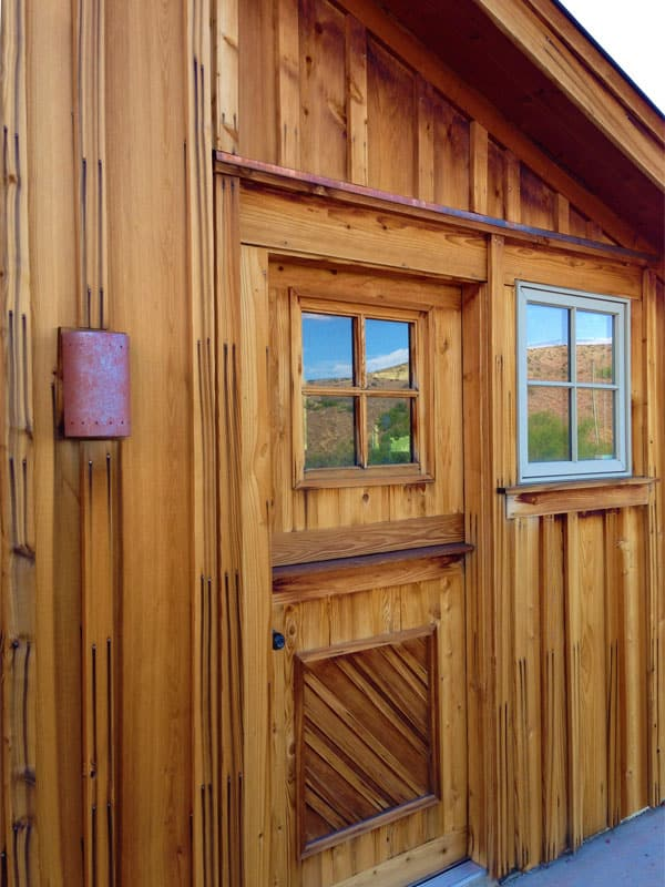 Las Palomas home for sale - barn door