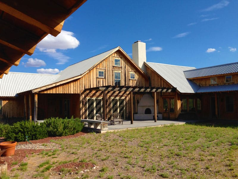 Las Palomas home for sale - from the barn
