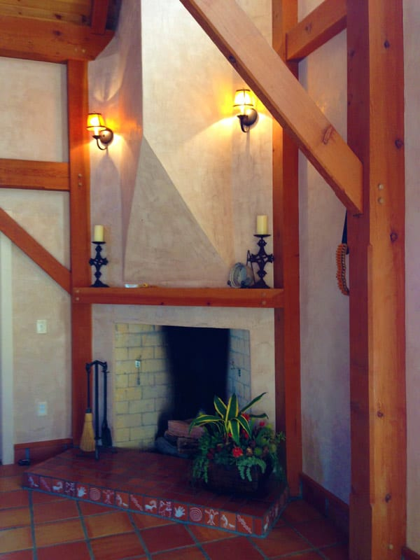 Las Palomas home for sale - fireplace