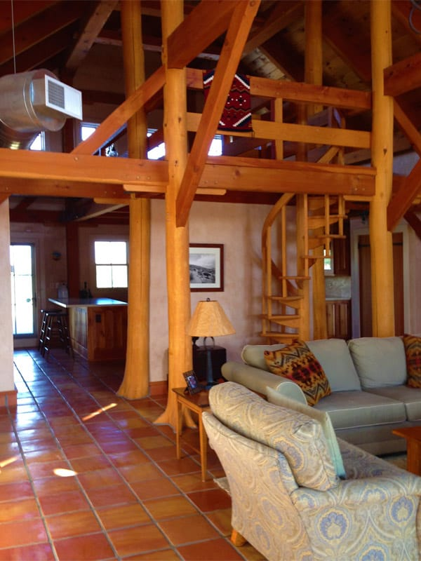 Las Palomas home for sale - spiral staircase
