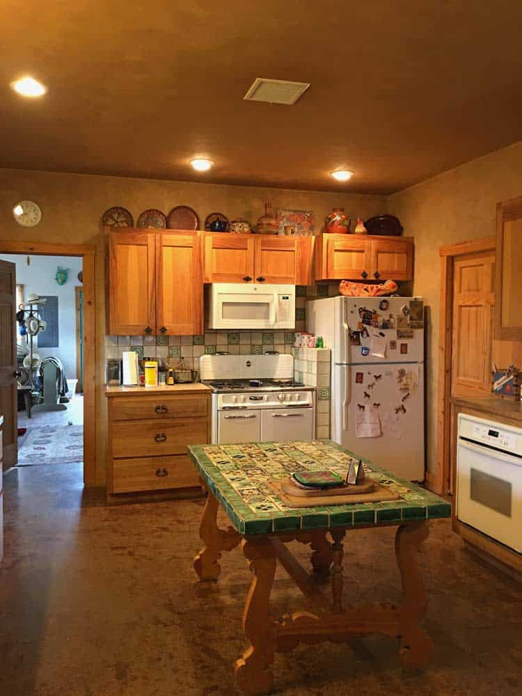 home for sale in New Mexico - dining room, kitchen
