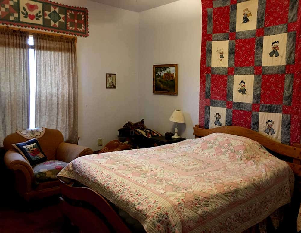 home for sale in New Mexico - guest bedroom