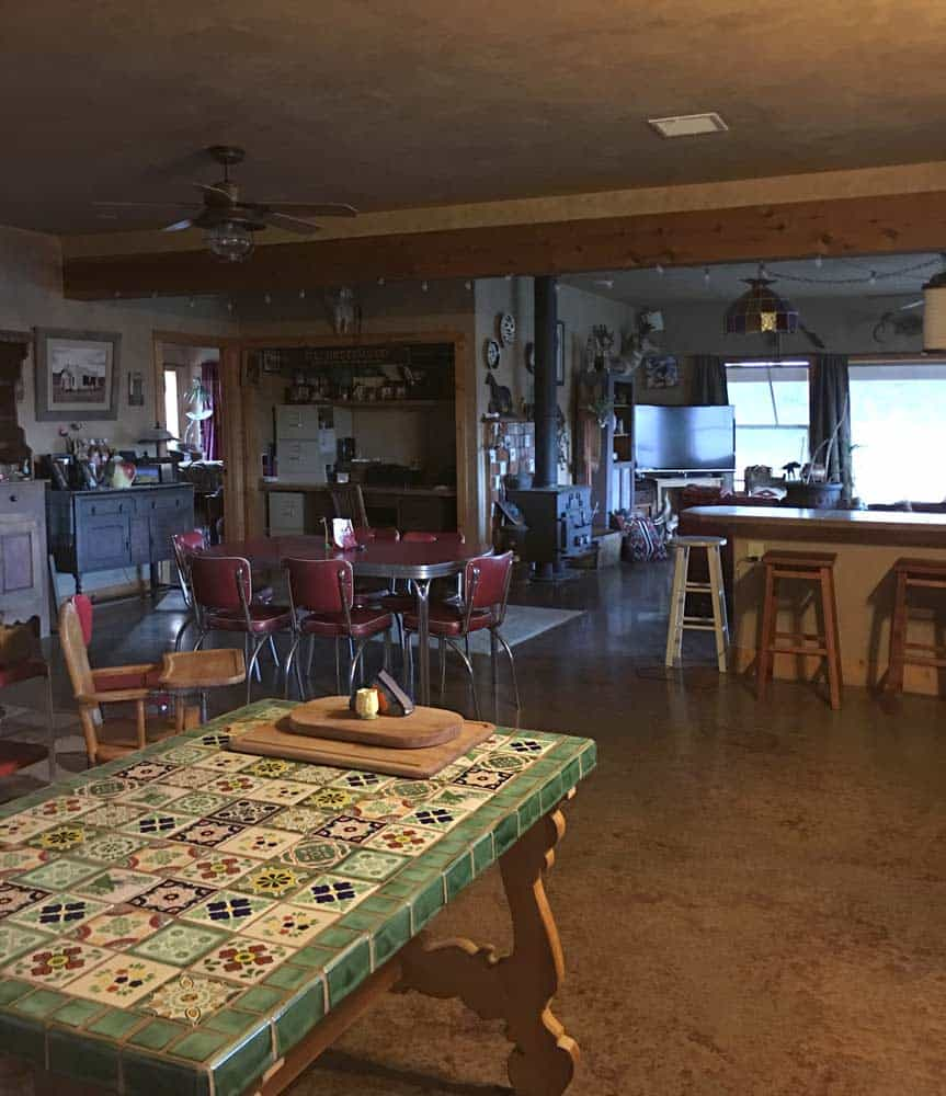 home for sale in New Mexico - kitchen and dining room