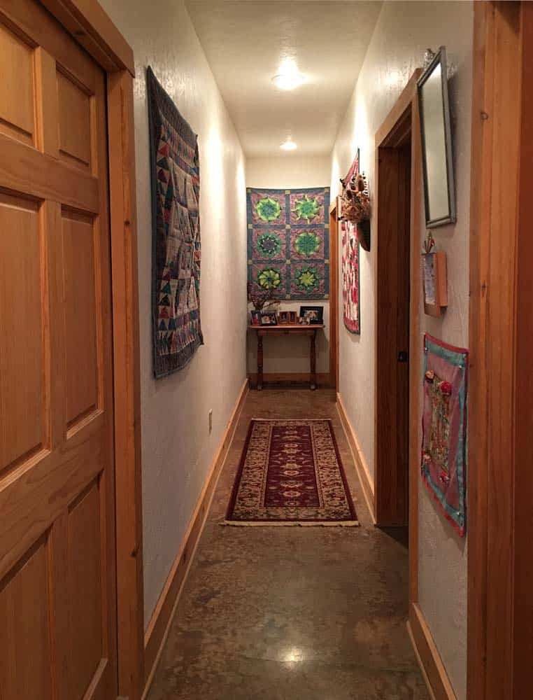 home for sale in New Mexico - hallway to bedrooms