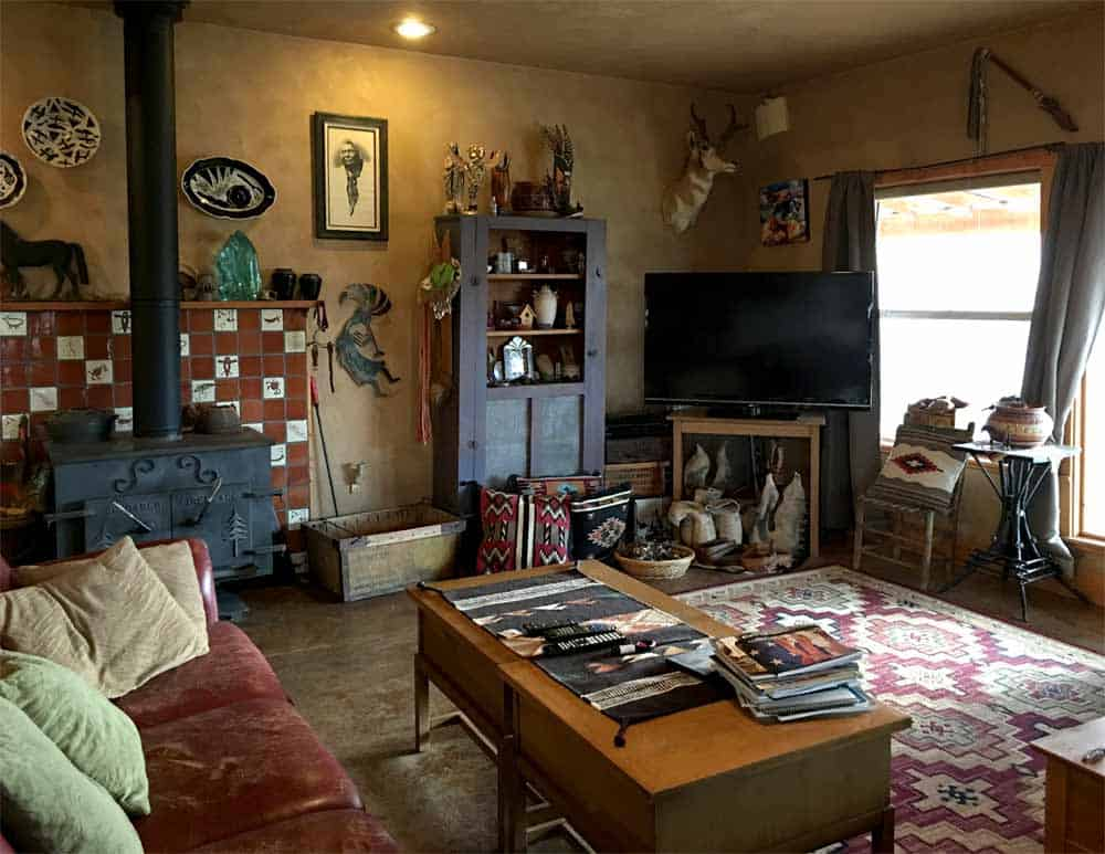 home for sale in New Mexico - comfy living area