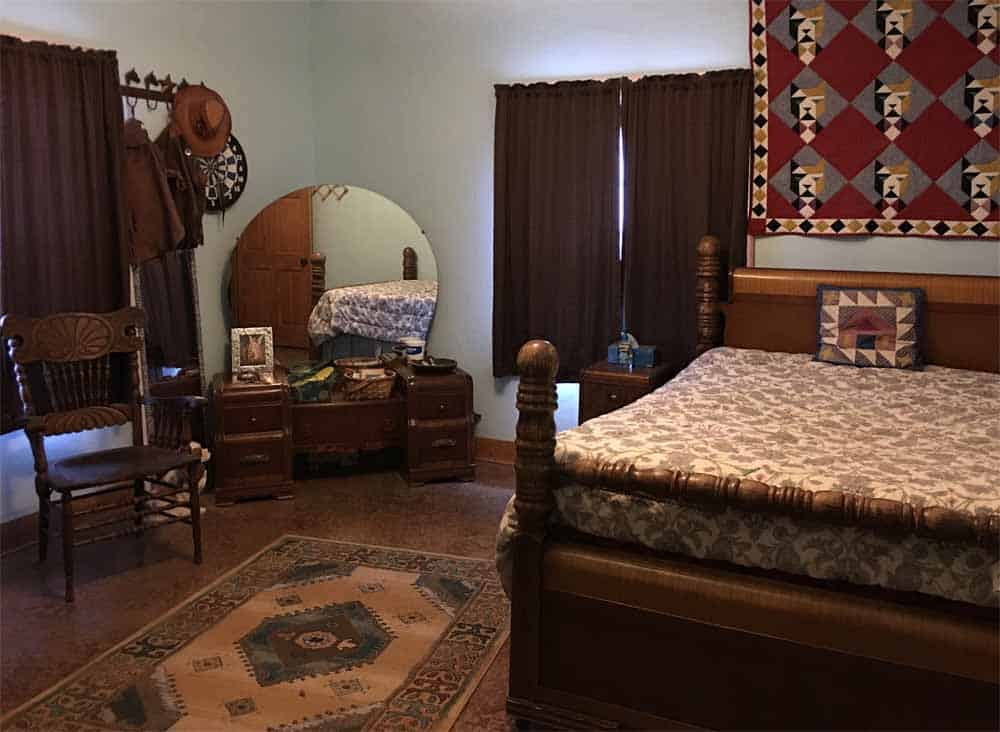 New Mexico home - guest bedroom